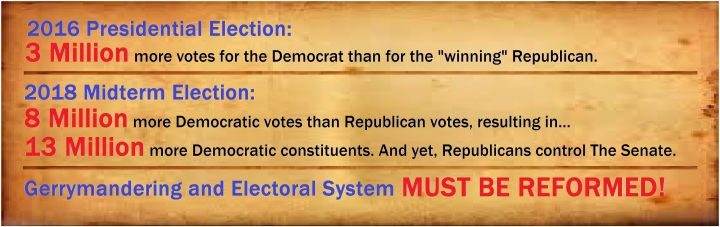 Democratic numbers