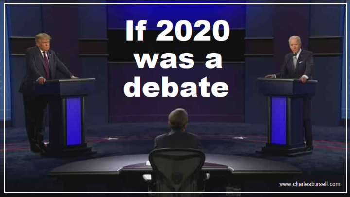 If 2020 was a debate